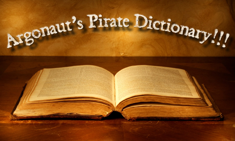 Argonauts Pirate Dictionary