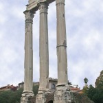 The Roman Temple of Castor and Pollux