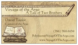 Business Card for David Taylor