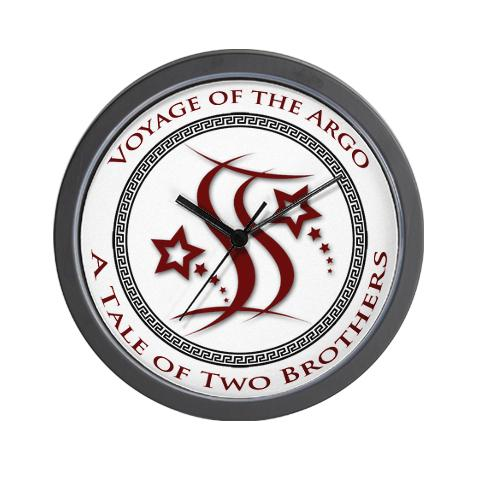 Voyage of the Argo - A Tale of Two Brothers Wall Clock